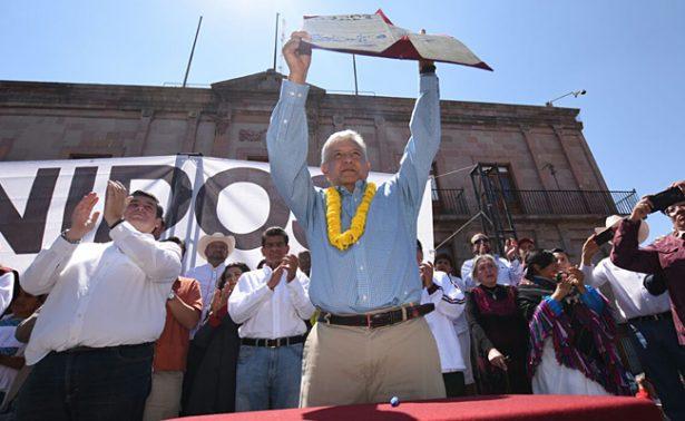 """AMLO urge a firmar el """"Acuerdo por la Prosperidad"""""""
