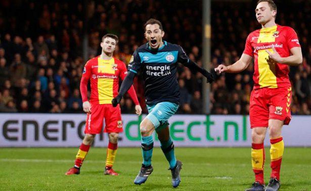 PSV gana 3-1 al Go Ahead Eagles en la Liga holandesa