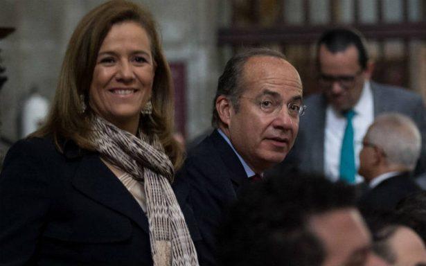 Calderón invita a desayuno para recaudar fondos para campaña de Margarita Zavala