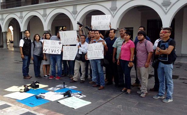 Exigen justicia por asesinato  del periodista Ricardo Monlui