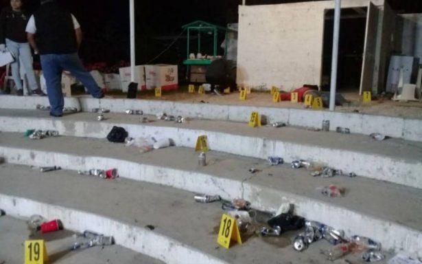 Dos muertos y dos heridos por balacera en palenque