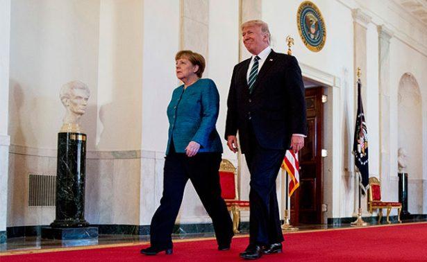 Trump dice tener algo en común con Merkel: ser espiados por Obama