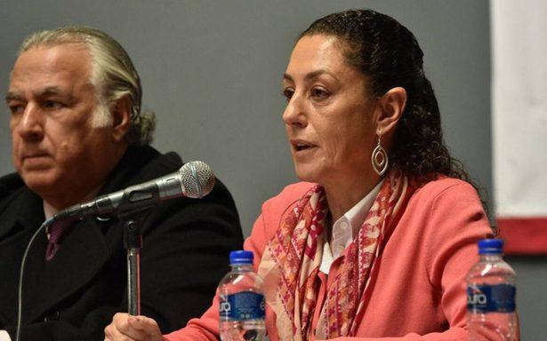 Sheinbaum celebra incorporación de Ebrard y Monreal a precampaña de AMLO