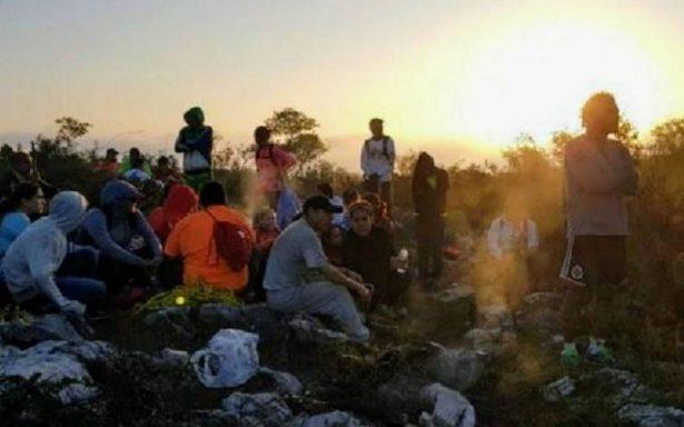 Salen a entrenar al cerro de Topo Chico y se pierden 32 corredores