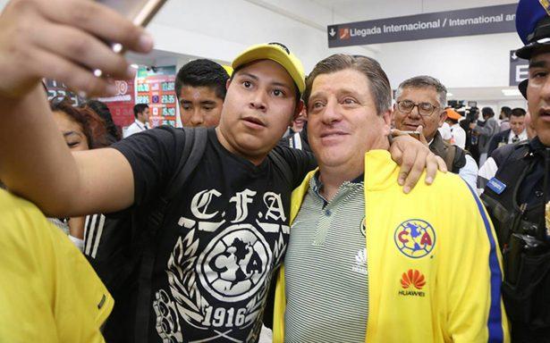 Miguel Herrera tomó con calma la victoria del América sobre Saprissa en la Concachampions.