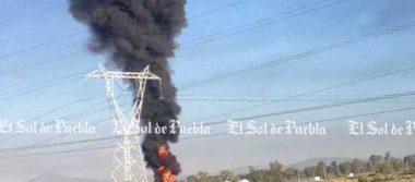 Incendio en ducto de Pemex de Acatzingosuma 14 horas
