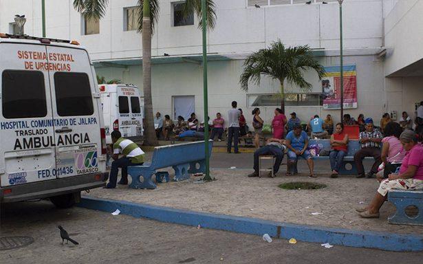 Médicos de Tabasco restringen servicio por inseguridad