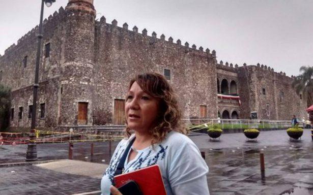 Resguardarán piezas del Palacio de Cortés