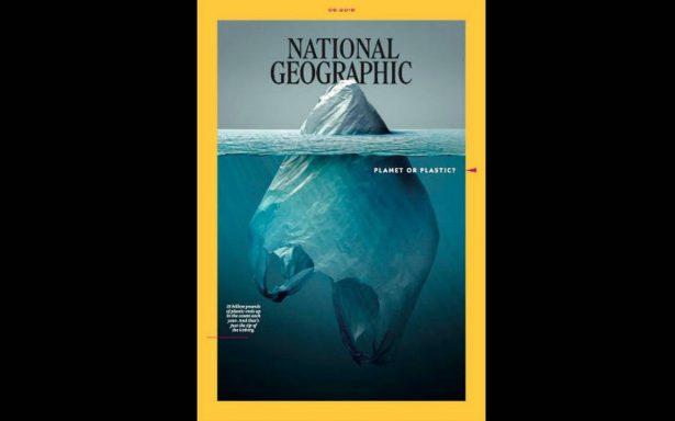 ¿Planeta o plástico? la controversial nueva portada de NatGeo