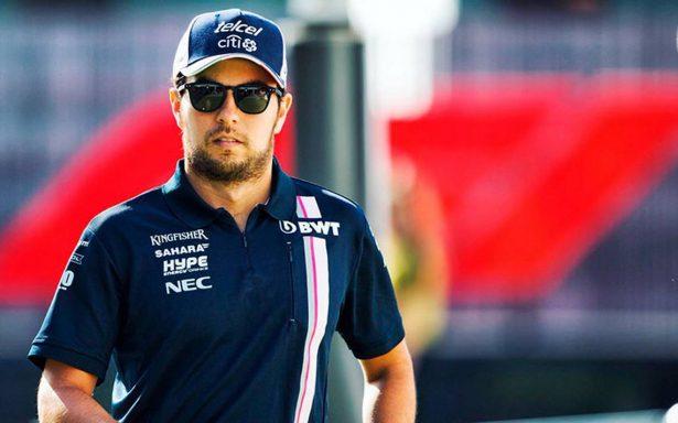 Sergio Pérez en busca de puntos en el Gran Premio de Alemania 2018
