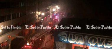 """Se incendia tienda de disfraces """"La Oveja Negra"""" en Puebla"""