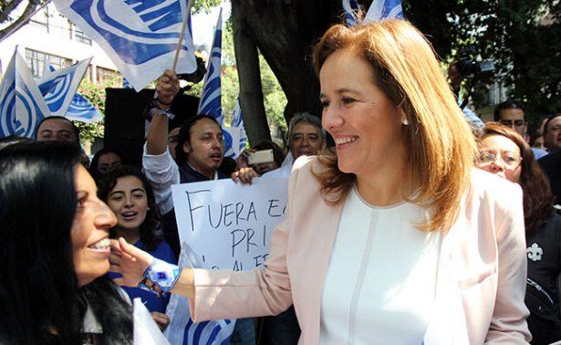 Margarita Zavala, a punto de renunciar al PAN; iría independiente a la Presidencia