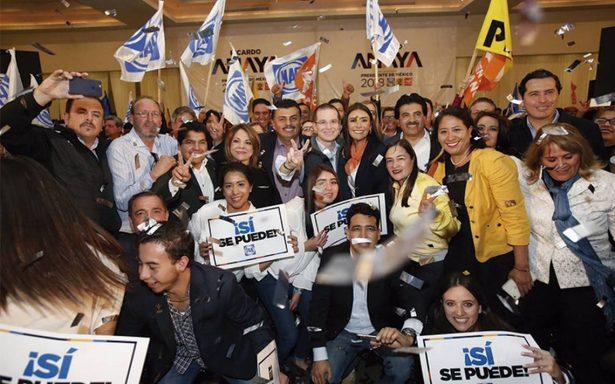 """De ganar la presidencia, Anaya ofrece acabar con """"pacto de impunidad"""""""