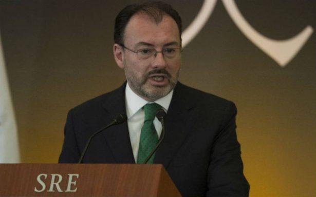 El presidente será quien decida el futuro de mecanismos de cooperación con EU: Videgaray