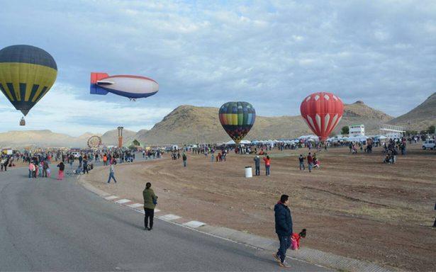 El cielo de Chihuahua se llena de colores con sus globos aerostáticos