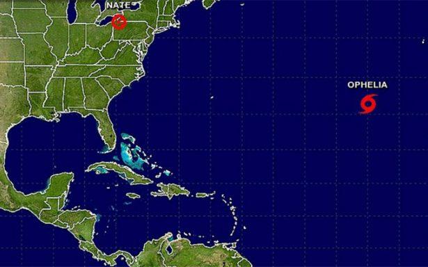 Ofelia se convertirá en huracán lejos de zonas habitadas del Atlántico