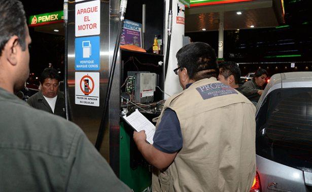 Profeco sanciona a 796 gasolineras y aplica sanciones por 49.6 mdp