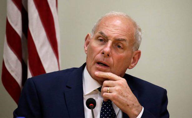 Dreamers quizá fueron muy flojos para inscribirse a DACA: John Kelly