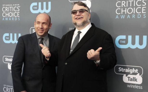 """""""La forma del agua"""" de Guillermo del Toro ahora es la favorita en premios del Sindicato de Productores"""