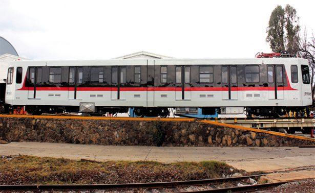 Primer envío de tren ligero a Guadalajara