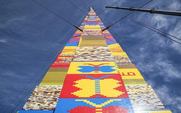 Israel tiene el muro de los lamentos y ahora ¿una enorme torre de Lego?