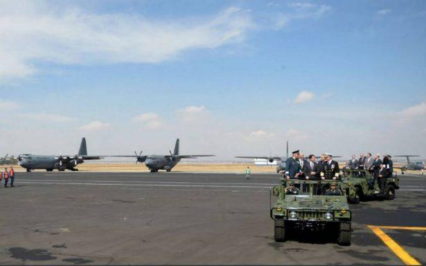 EPN encabeza ceremonia por el 103 aniversario de la Fuerza Aérea