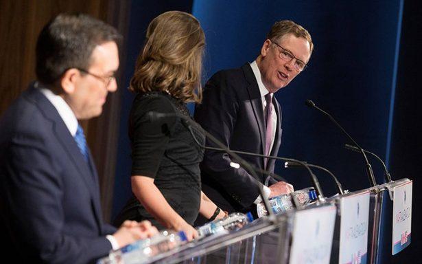 Renegociación del TLCAN va mejor con México que con Canadá, reconoce EU