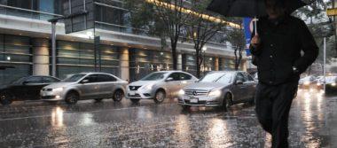 Persisten lluvias de dispersas a muy fuertes en la mayor parte del país