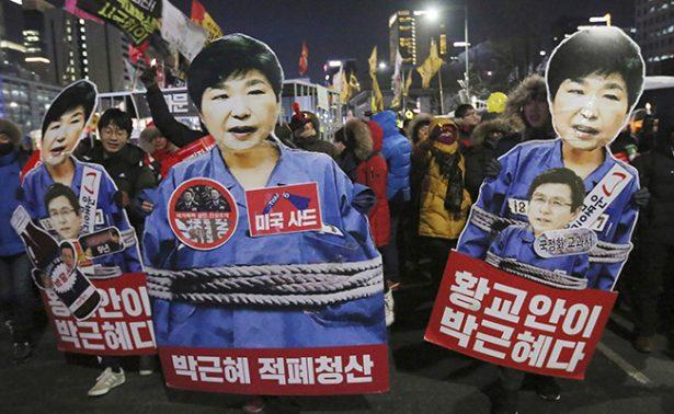 Aprueban destitución formal de la presidenta de Corea del Sur