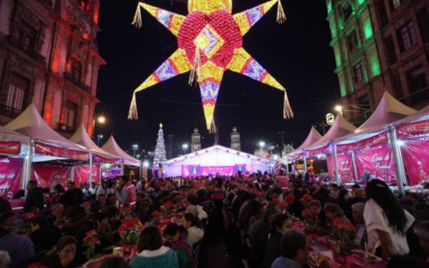 Navidad para todos: 50 mil personas disfrutaron de las cenas gratuitas en la CDMX
