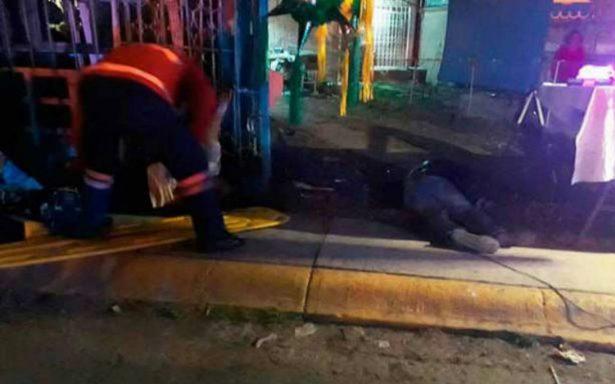 Balacera en Acolman deja cinco muertos, cuatro son menores