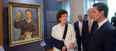 Es un privilegio trabajar en Palacio Nacional: Peña Nieto al inaugurar Museo Histórico