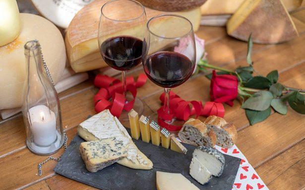 Este próximo Día del Amor y la Amistad disfruta de una opción práctica que incluya diversidad de quesos