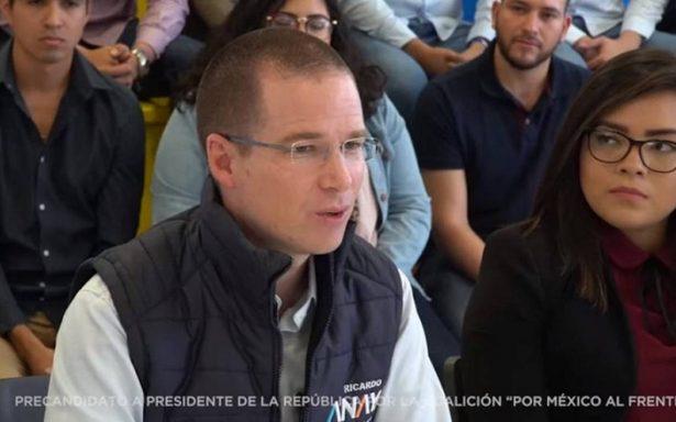 Guanajuato, una 'mina' de desarrollo en jóvenes emprendedores: Anaya