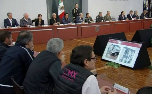 Peña Nieto y Mancera anuncian medidas de reconstrucción de la CDMX