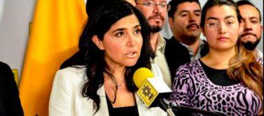 Pide Barrales a legisladores que renunciaron en el Senado a salir del PRD