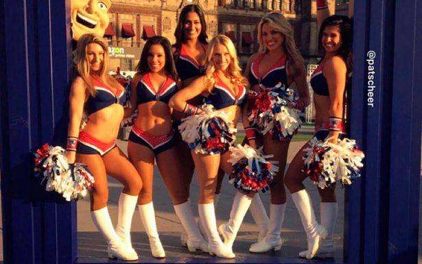 ¡Pompones, minifaldas y escotes listos! Así lucen las porristas del #SuperBowlLII