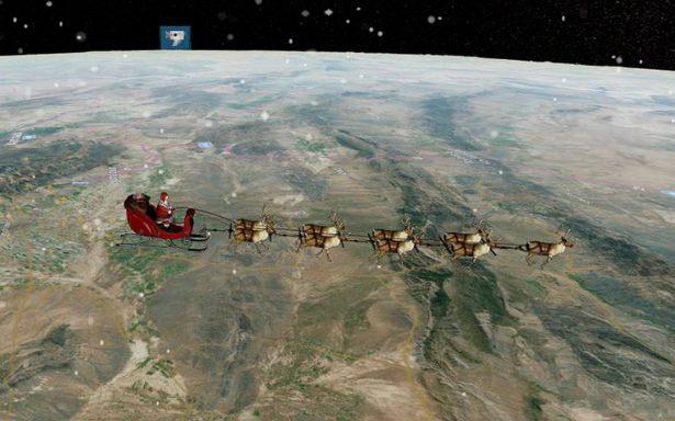 [En vivo] ¡Sigue a Santa Claus! Ya inició su recorrido para repartir regalos