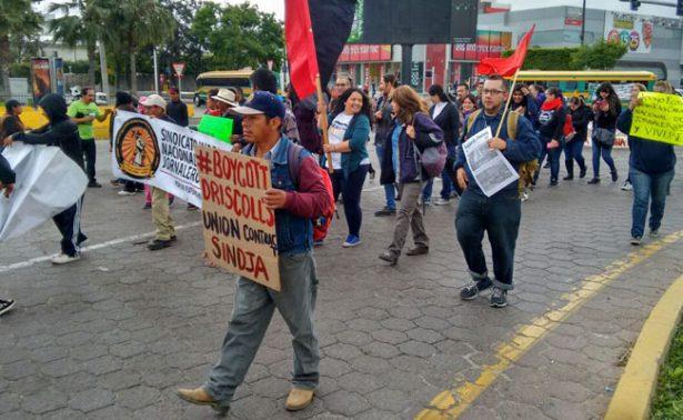 Jornaleros liberan la garita El Chaparral