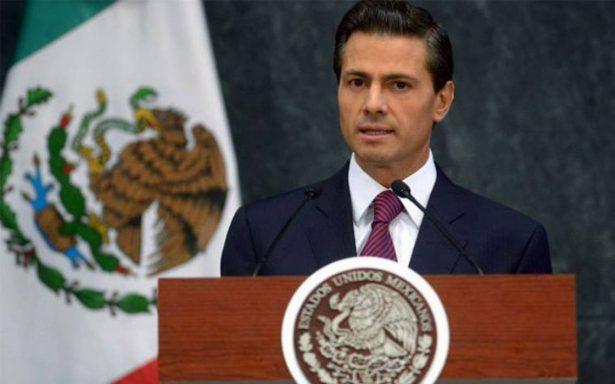 Peña Nieto se va de vacaciones decembrinas