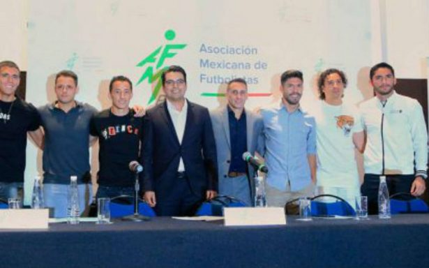 Estrellas de la Liga MX presentan la Asociación Mexicana de Futbolistas