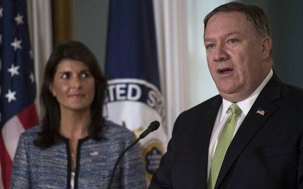 Estados Unidos sale del Consejo de Derechos Humanos de la ONU