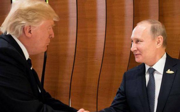 Trump y Putin planean reunirse para discutir la carrera armamentista