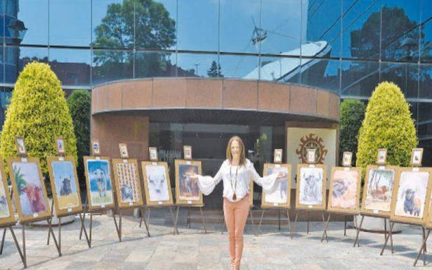 Gabriela Ferrer busca poner en alto a México con colección de acuarelas