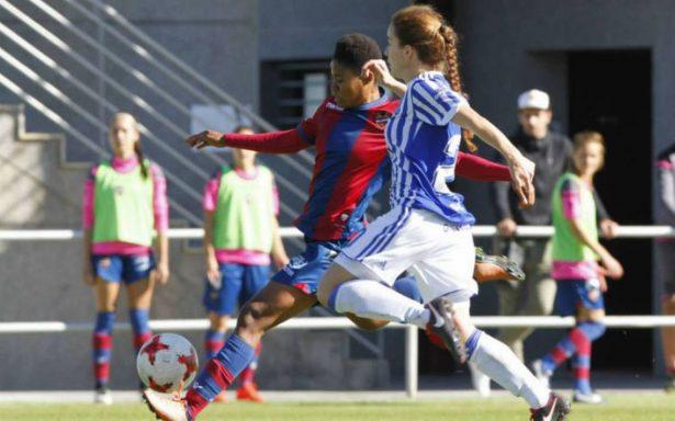 Levante Femenil rescata empate en casa ante Real Sociedad