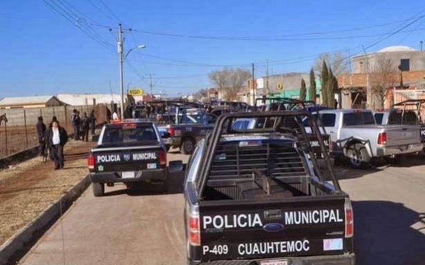 Activan Código Rojo por ataques a policías en Chihuahua