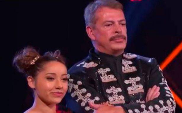 ¡Hay tiro! Sergio Goyri y Lolita Cortés se pelean en Bailando por un Sueño