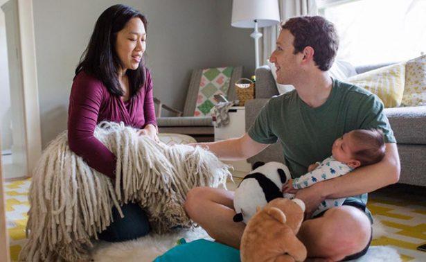 ¡Crece la familia de Zuckerberg! el creador de Facebook será padre de una niña