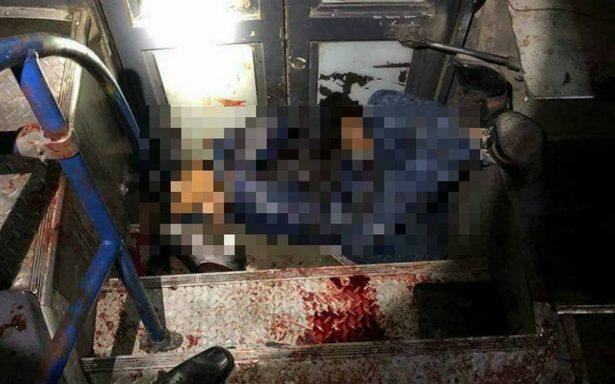 Justicieros frustran asalto a camión de pasajeros y matan a presunto asaltante en Edomex