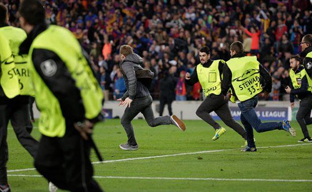 Castigarían al Barça por invasión de campo tras partido ante PSG
